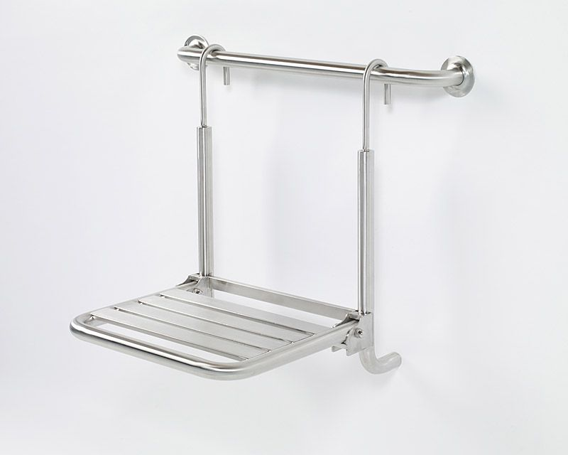 Grab Bar Specialists: GBS Hanging grab bar mounted folding shower ...
