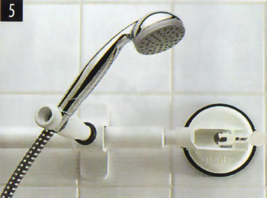 MOBELI - Clip fixture for shower head
