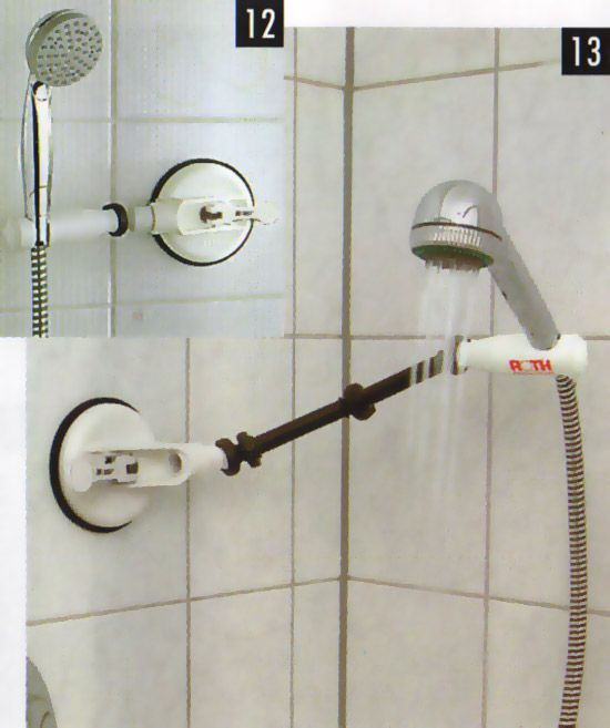 MOBELI - Shower Head Holder - (short)