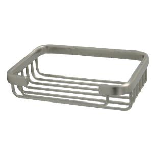 ALLIED BRASS - Rectangular Shower Basket - Dimensions: 5-3/16 inch Long x 3-5/8 inch Long x 1-1/4 inch Deep