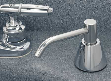 Lavatory Mounted All Purpose Soap Dispenser - - 6 inch Spout