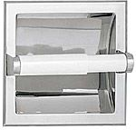 Recessed Toilet Paper Holder - Recessed -  CHROME