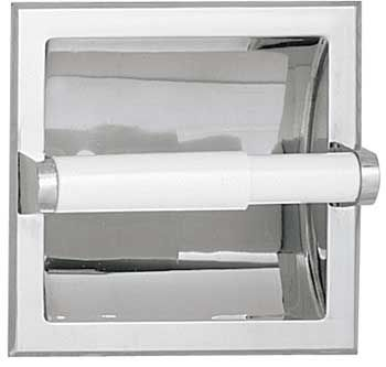 ASI Recessed Chrome Plated Toilet Paper Holder