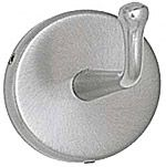 ASI Surface Mounted Satin Finish Heavy Duty Robe Hook with Exposed Screws