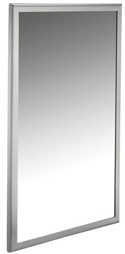 Roval Stainless Steel Mirror - 24 inchx30 inch Mirror