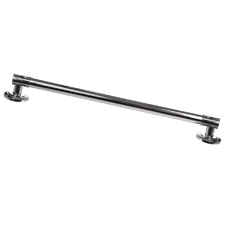 Grab Bar Specialists ADA 24 Inch Decorative Grab Bar Chrome S1 Arista