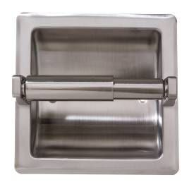 ARISTA Stainless Steel Recessed TP Holder wPlate SN