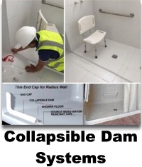 Collapsible Dams