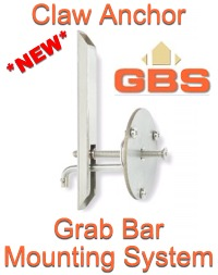 GBS Claw Anchor Grab Bar Mounting System