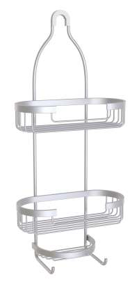Better Living Aries 3-Tier Shower Caddy Aluminum