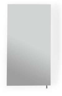 Better Living Stainless Steel Medicine Cabinet with Mirrored Door