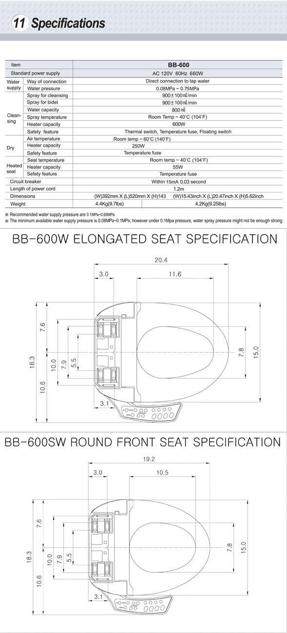 BioBidet BB-600