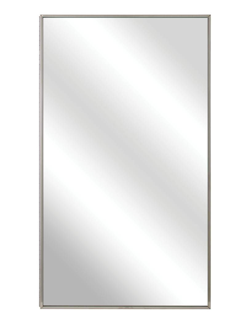 Bradley Semi-Recessed Medicine Cabinet with Float Glass Mirror