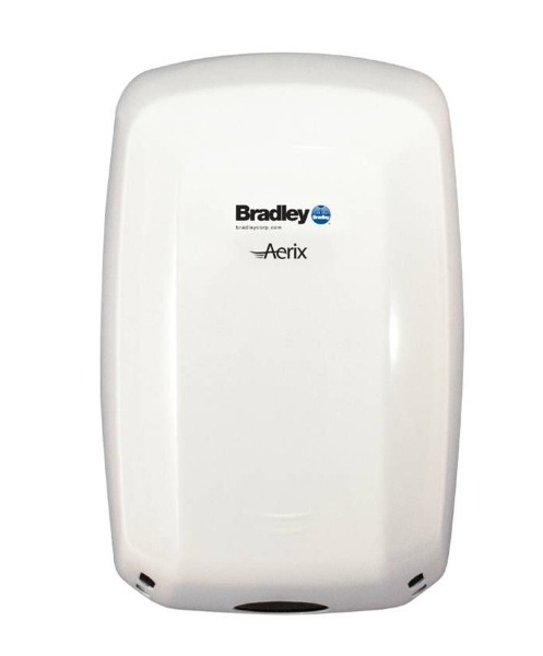 Bradley 2901 Series Surface Mounted Aerix Sensor Operated Hand Dryer