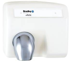Bradley 2903 Series Surface Mounted Aerix Sensor Operated Hand Dryer