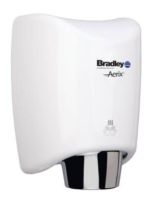 Bradley 2922 Series Surface Mounted Aerix+ Sensor Operated Hand Dryer