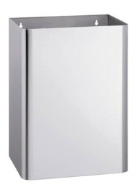 Bradley 355 Series 20.6 Gallon Waste Receptacle with Optional Lid and Push Flap
