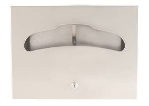 Bradley Bradex Stainless Steel Recessed Seat Cover Dispenser 500 Sheet Capacity