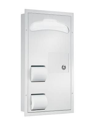 COMBI-UNIT- PARTITION MT- 1 SIDE FLUSH FOR GRAB BAR