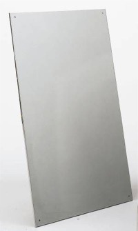FRAMELESS SS MIRROR 16 X 24   #8 BRIGHT POLISHED FINISH