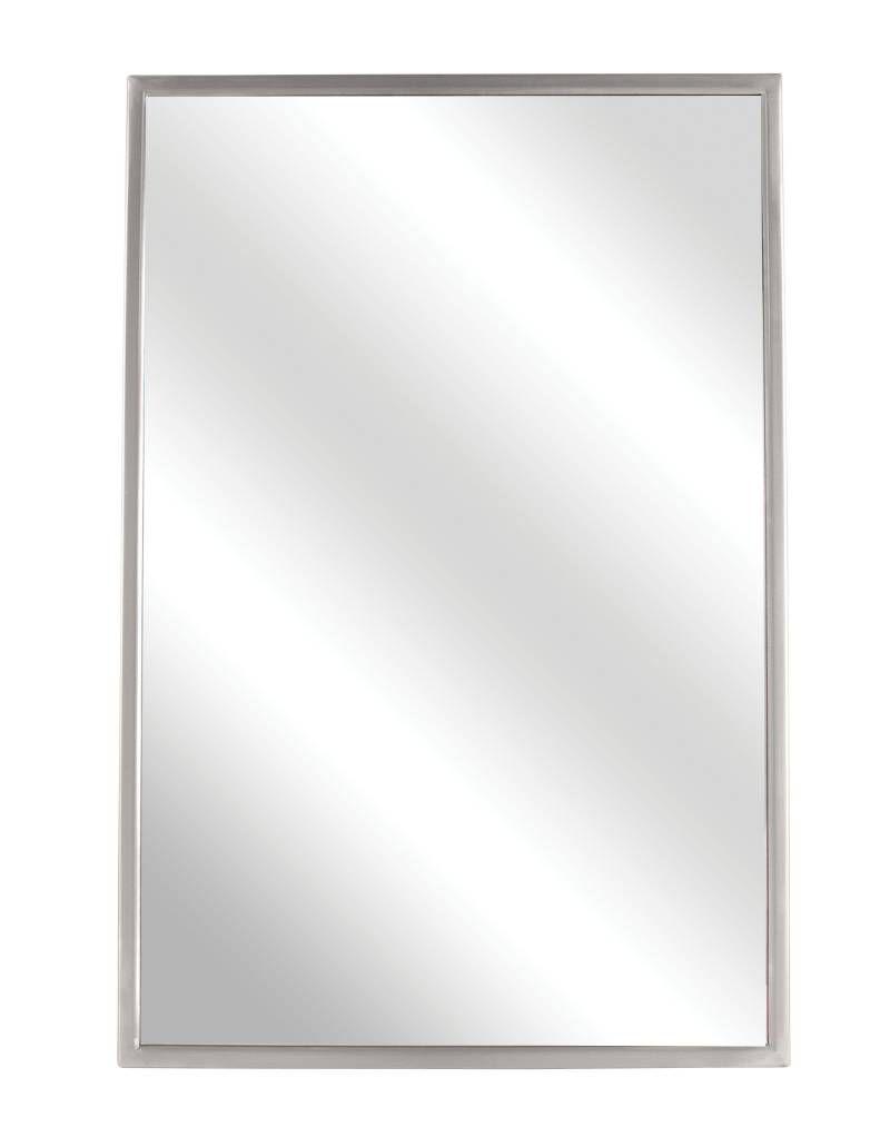 mirror 20 x 36. af mirror- 20 x 36 ss frame- satin finish mirror i