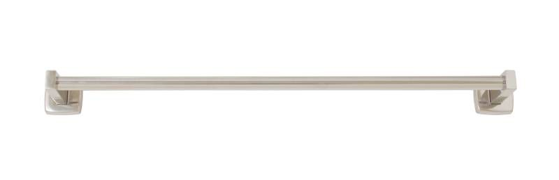 "Bradley 9066 Series 3/4"" Round Towel Bar with Bright Polished Finish"