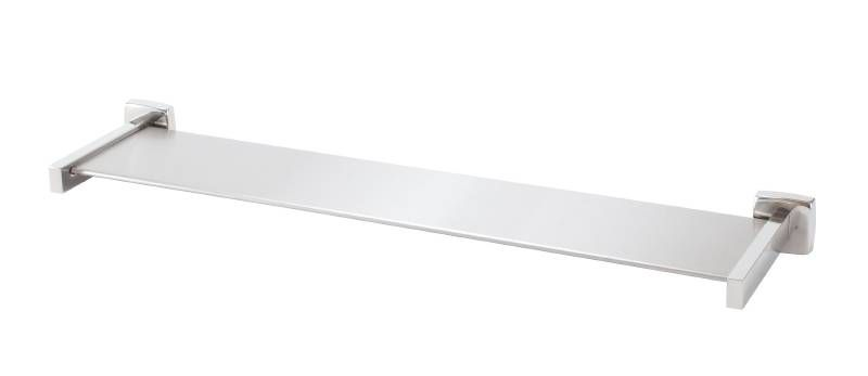 "Bradley 9095 Series 6-1/4"" Stainless Steel Shelf with Bright Polished Finish"