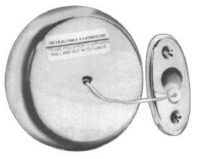 Bradley Stainless Steel Retractable Clothesline with Bright Polished Finish