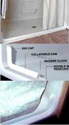 EL - Collapsible Dam - Shower Enclosure Part