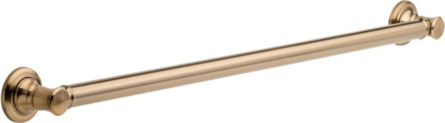 """Delta 40118 Stainless Steel Commercial 18/"""" Grab Bar With Concealed Mounting"""