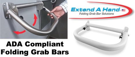 Extend A Hand Folding Grab Bars