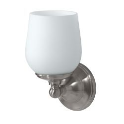 "Gatco Oldenburg 9-1/2"" x 4-1/2"" Satin Nickel Single Sconce"