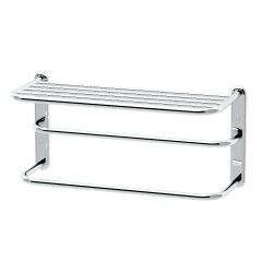 "Gatco 20"" x 10"" Chrome Spa Rack 3-Tier Towel Rack"