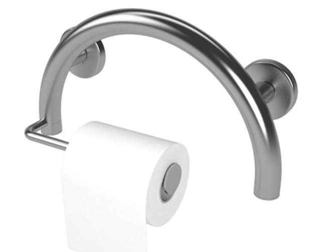 Toilet Paper Holder Grab Bar