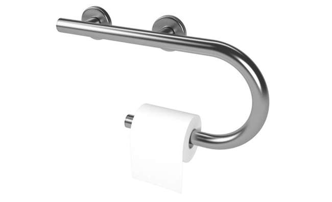 Life Line Designer Right Hand Toilet Paper Holder Grab Bar