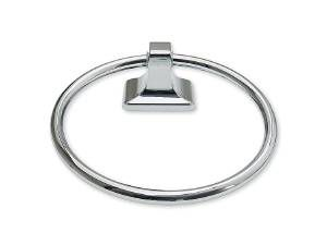 TOWEL RING, HOTELMAN - US26 BRIGHT CHROME
