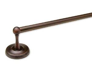 TOWEL BAR SET, 24 inch, ROYAL PALM - US10B OIL RUBBED BRONZE