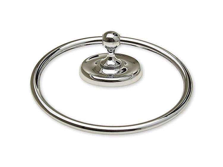 TOWEL RING, PORTSMOUTH - US26 BRIGHT CHROME