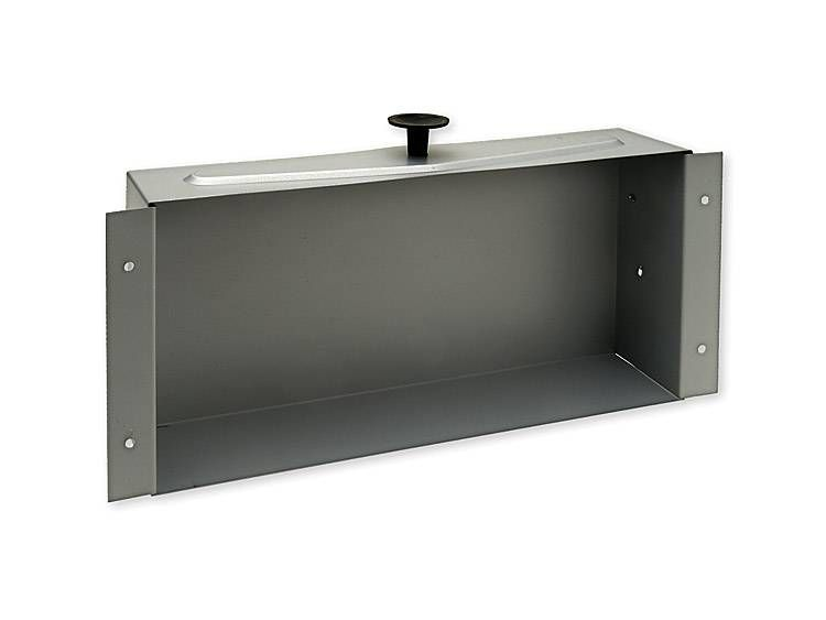 TISSUE BOX RECESSED, NO FACE PLATE - USG2D GALVANIZED STEEL
