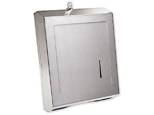 TOWEL DISPENSER, STAINLESS STEEL - US32D BRUSHED STAINLESS STEEL