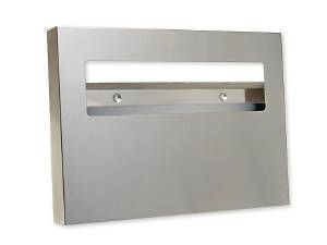 SEAT COVER DISPENSER - US32D BRUSHED STAINLESS STEEL