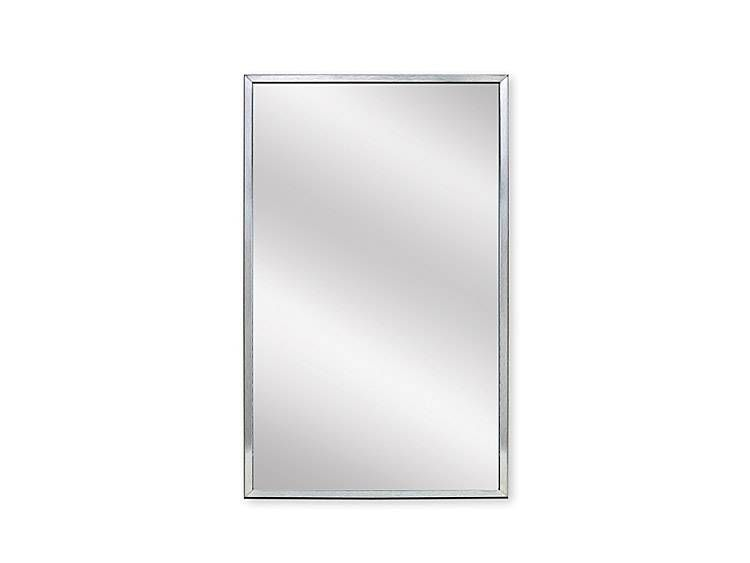 MIRROR, 18 inch X 30 inch - US32D BRUSHED STAINLESS STEEL