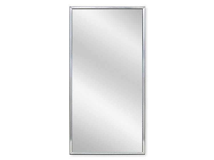 MIRROR, 18 inch X 36 inch - US32D BRUSHED STAINLESS STEEL