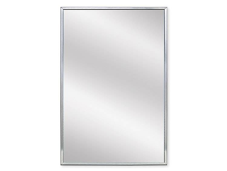 MIRROR, 24 inch X 36 inch - US32D BRUSHED STAINLESS STEEL