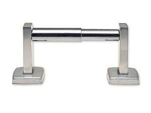 TOILET TISSUE HOLDER, 1 ROLL, STAINLESS STEEL - US32D BRUSHED STAINLESS STEEL
