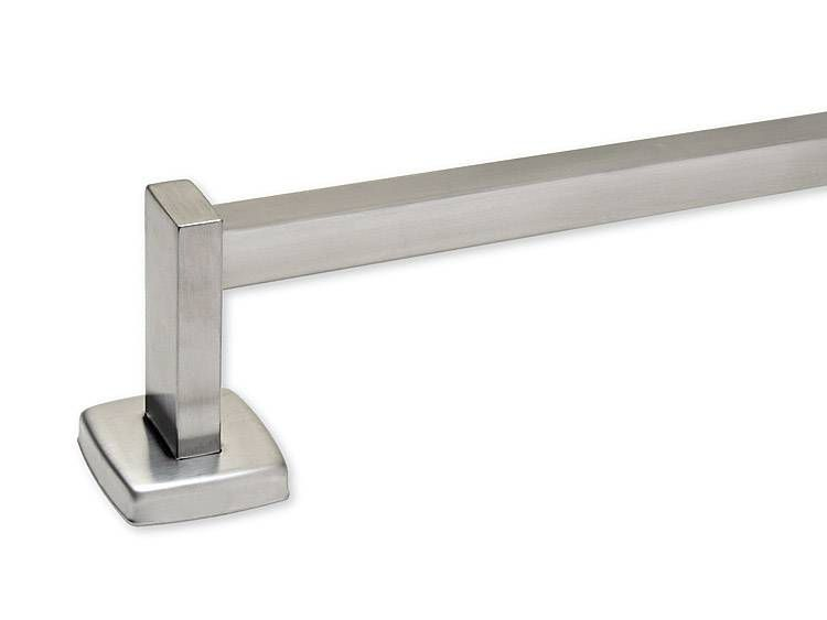 TOWEL BAR, 18 inch, STAINLESS STEEL - US32D BRUSHED STAINLESS STEEL