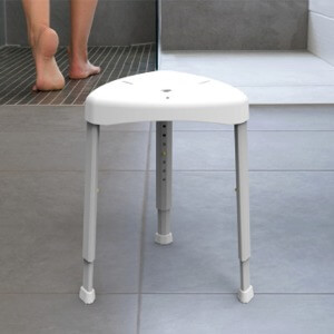 Healthcraft Adjustable Aluminum Shower Stool