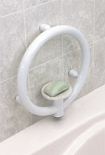 INVISIA - Soap Dish - Powder Coat White