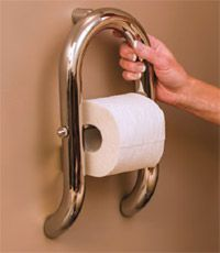 INVISIA - Wall Toilet Roll Holder