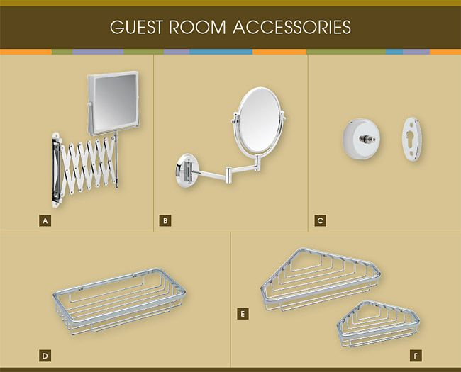 Franklin Brass Guest Room Accessories